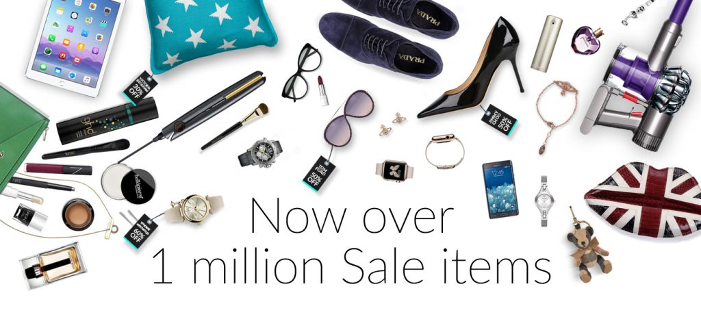 Over 1 million products