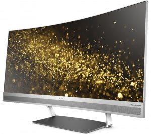 HP Curved Monitor