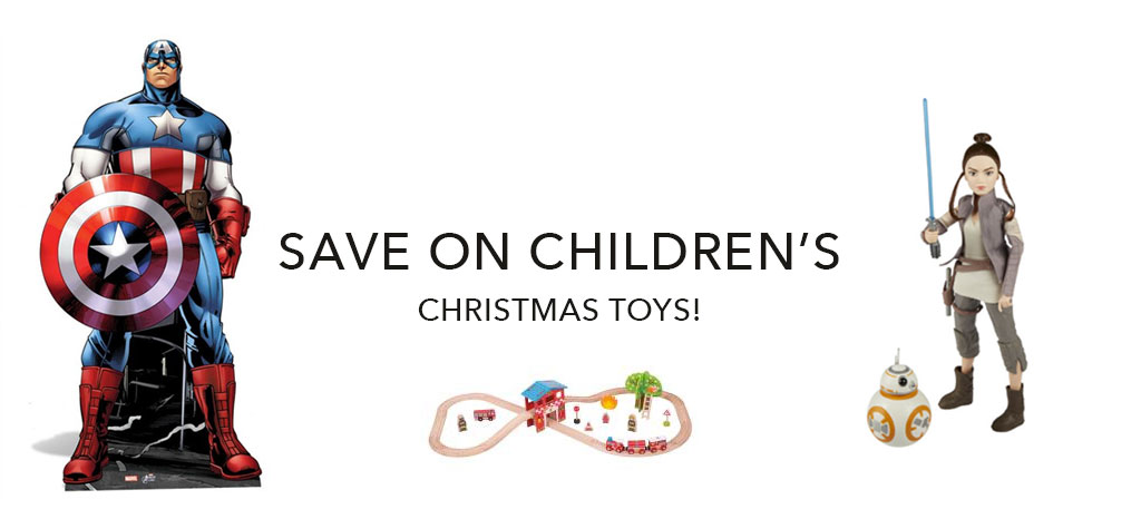 Save on children's Christmas toys!
