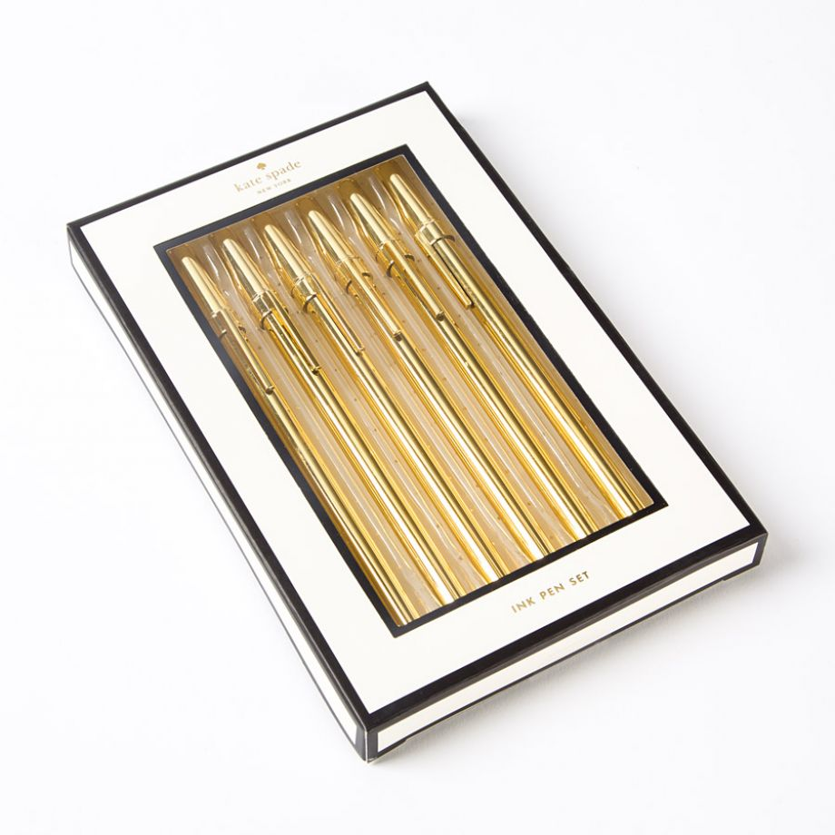 Kate Spade Gold Pen Set