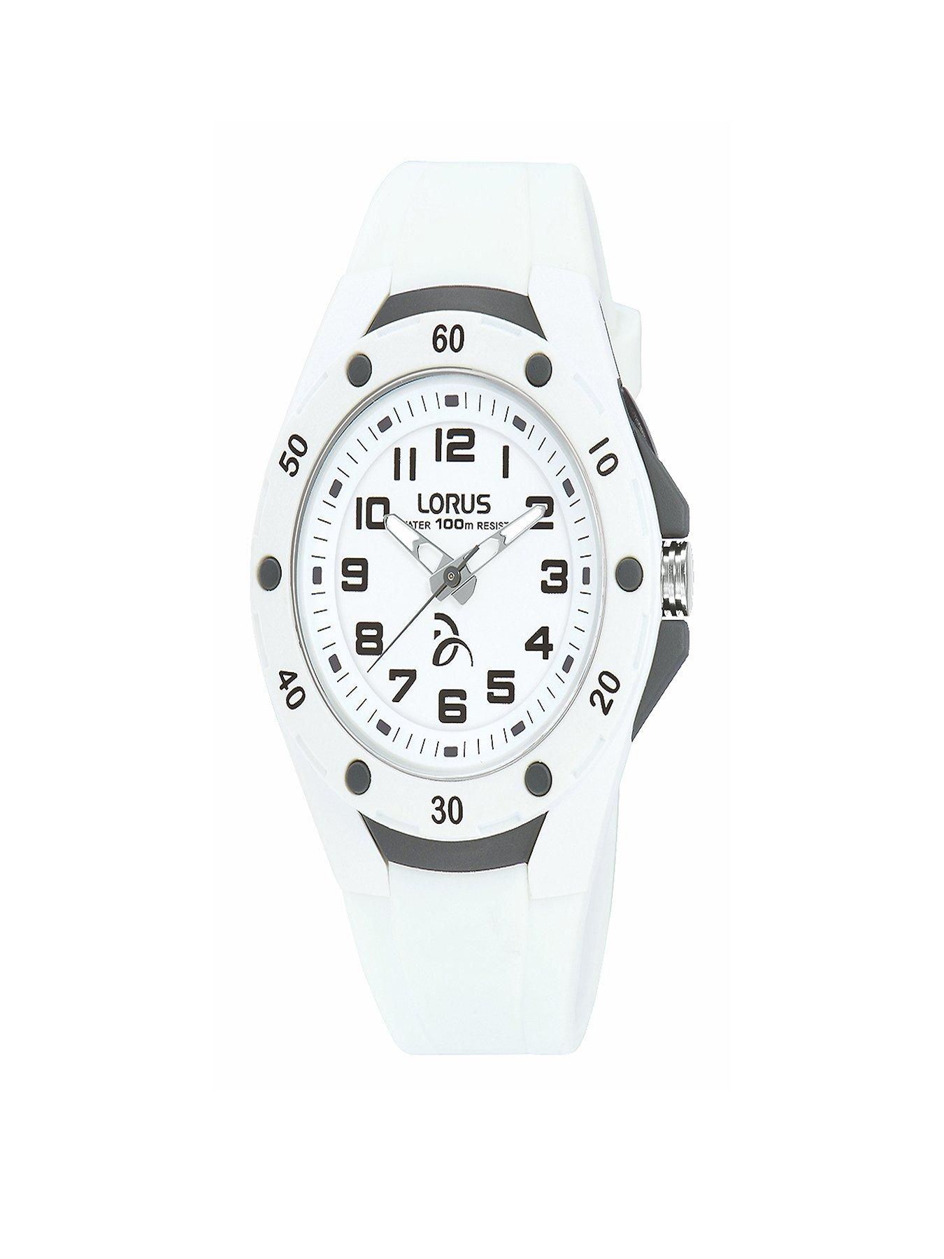 White Lorus Kids Watch