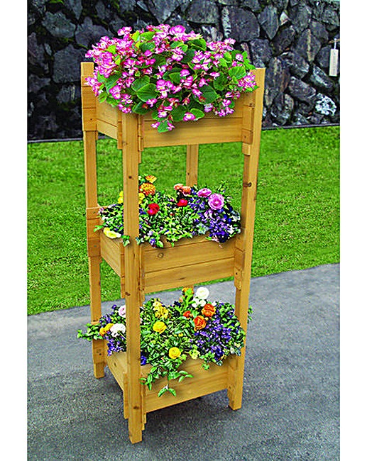 Gardenwize Three Tier Planter